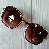 Модные женские очки солнцезащитные с шорами, фото 2