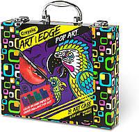 Набор для рисования в чемодане крайола арт кейс Crayola Art with Edge Coloring Book. Оригинал