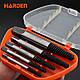 Набор экстракторов для поврежденных шпилек 5 штук M3-M14 Harden Tools 610555, фото 3