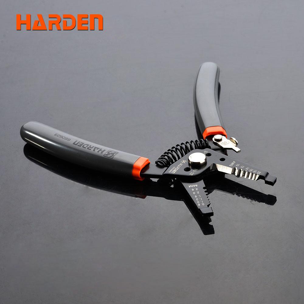 """Мультифункциональный стриппер съемник изоляции 7,5"""" Harden Tools 660623"""