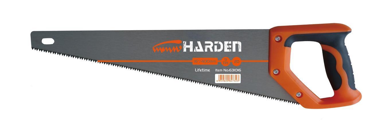 """Ножовка по дереву ручная 16"""" Harden Tools 631016"""
