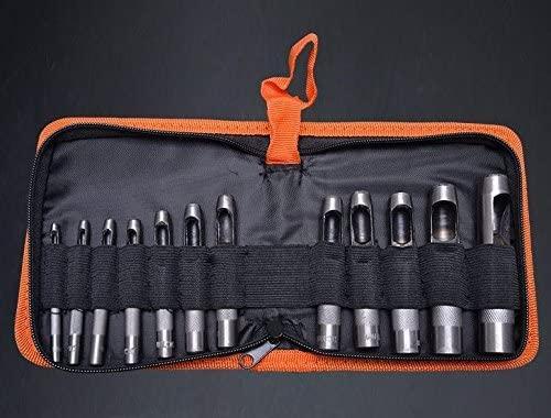 Набор профессиональных пробойников (просечек) для кожи 3-16мм, 12 шт. Harden Tools 610848