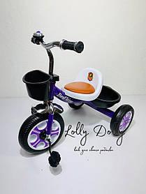 Триколісний велосипед Best Trike LM, Фіолетовий