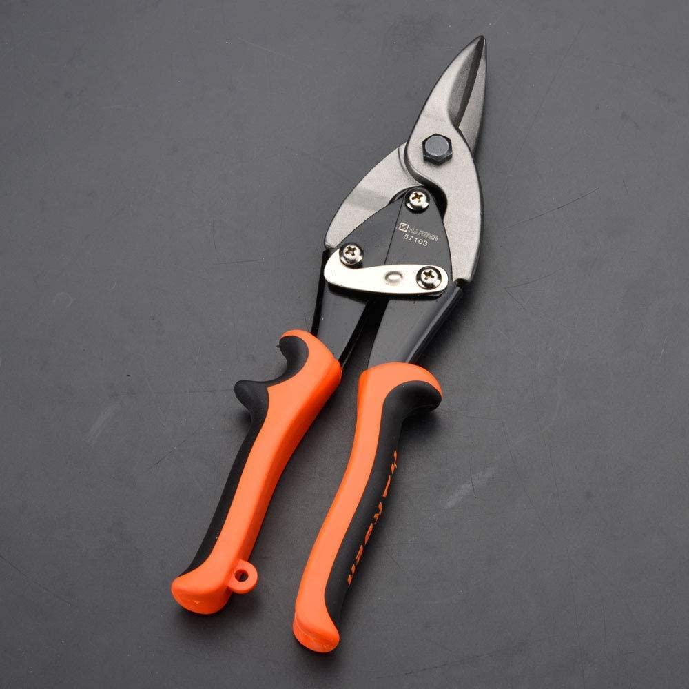 """Професійні ножиці по металу прямі 250 мм 10"""" Harden Tools 570103"""