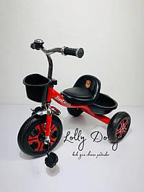 Триколісний велосипед Best Trike LM, Червоний