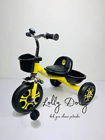 Триколісний велосипед Best Trike LM, Жовтий