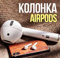Большая Портативная Bluetooth колонка наушник Airpods Speaker, встроенный микрофон MK-101, фото 1