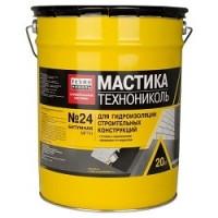 Мастика № 24 гидроизоляционная Технониколь 20 литров/ 20 кг