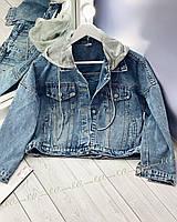 Джинсовый пиджак 5320 (OS)