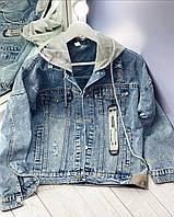 Джинсовый пиджак 5321 (OS)