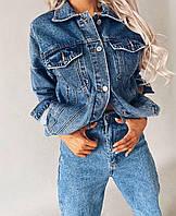 Джинсовый пиджак 5463/1 (OS)