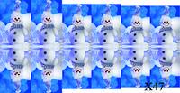 Слайдер дизайн для ногтей зимние Новый год