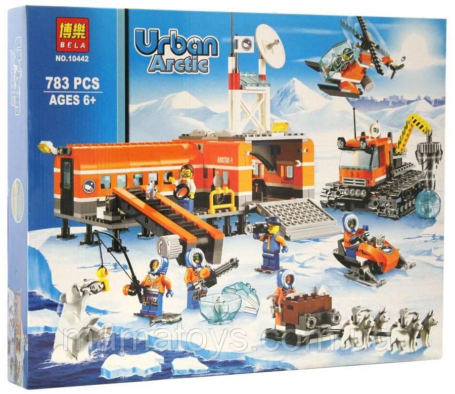 Конструктор Bela Urban Arctic 10442 Арктический Лагерь 783 детали