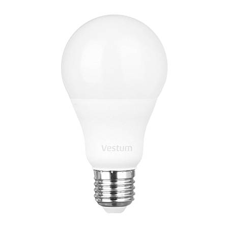 Лампа LED Vestum A65 15W 3000K 220V E27, фото 2