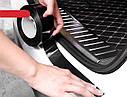 Карбоновая плёнка скотч, молдинг лента Карбон 4D, виниловая лента из углеродного волокна ширина 7см цена за 1м, фото 9