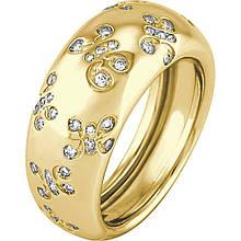 Золотое кольцо с бриллиантами, размер 17 (172940)