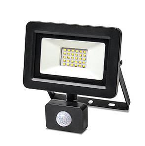 Прожектор LED Vestum с датчиком движения 30W 2 900Лм 6500K 175-250V IP65, фото 2