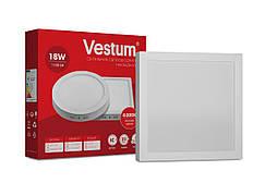 Светильник LED накладной квадратный Vestum 18W 4000K 220V