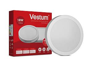 Светильник LED накладной круглый Vestum 18W 4000K 220V, фото 2