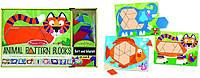 """Деревянная мозаика """"Animal Pattern Blocks"""" Melissa&Doug"""