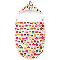 Летний конверт для младенцев GorforKid America Капкейк (9801-202-023-1)
