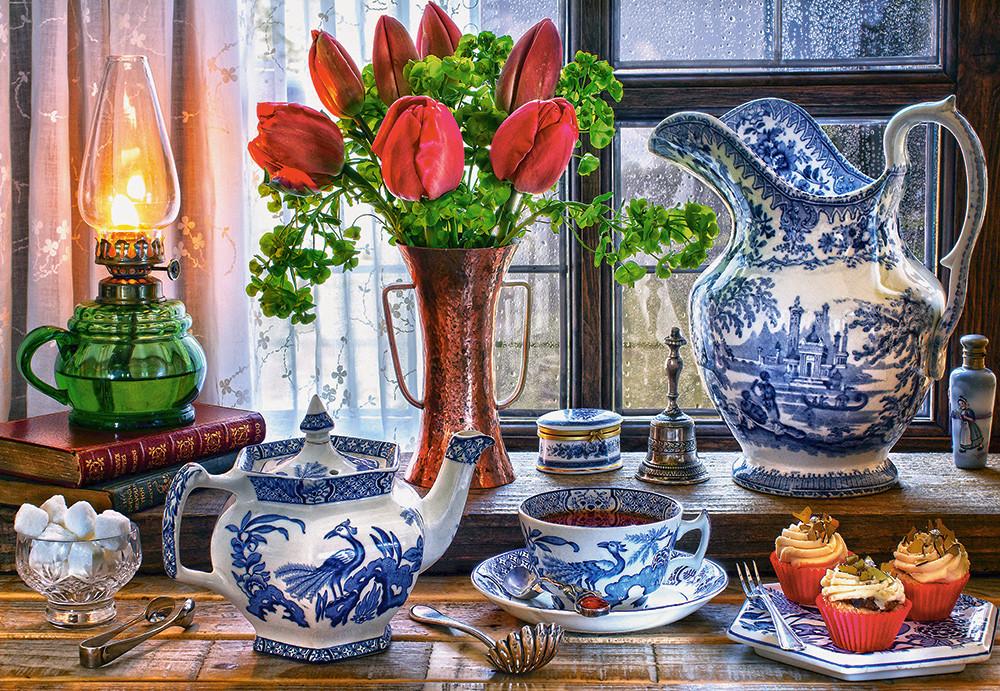 Пазли Натюрморт з тюльпанами, 1500 елементів Castorland З-151820