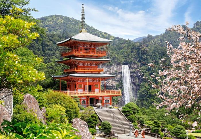 Пазлы Сиганто-Дзи, Япония, 1000 элементов Castorland С-103201