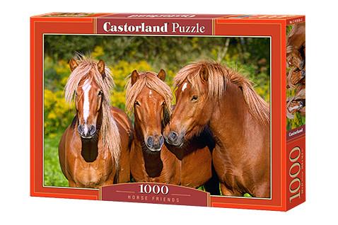 "Пазли ""Коні"" Castorland 1000 елементів"