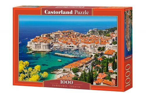 """Пазлы """"Город и порт, Dubrovnik, Croatia"""", 1000 эл С-103720"""