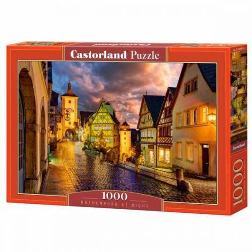 "Пазлы ""Ночной город, Rothenburg at night"", 1000 эл C-103461"