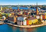 """Пазлы """"Стокгольм, Швеция"""" Castorland 500 элементов, фото 2"""
