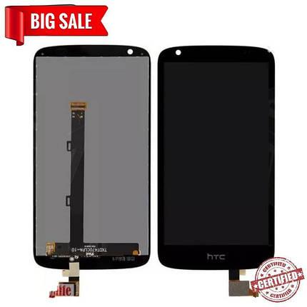 Модуль (сенсор + дисплей) для HTC Desire 526 Dual чорний, фото 2