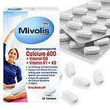 Биодобавка Mivolis Calcium 600 + D3 + K1 + K2   30 таблеток, фото 2