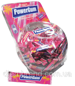 """Жевательная резинка Power GUM """"Тропик"""" 3 гр., 300 шт."""