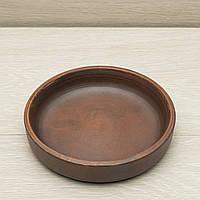 "Тарелка глиняная гончарная ""Кеци"" диаметр 17 см, фото 1"