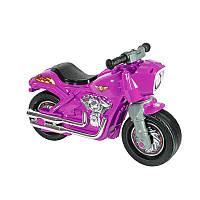 Детский фиолетовый мотоцикл