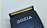 Машинка для стрижки волос Rozia HQ-257 + насадки, ножницы, расческа, фото 7