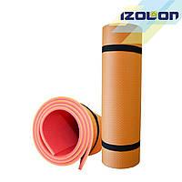 Коврик для спорта и туризма Isolon двухслойный Tourist 8 мм