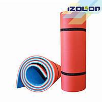 Коврик для спорта и туризма Isolon двухслойный Tourist 12 мм