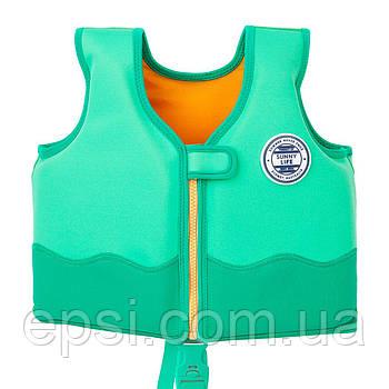 Жилет для плавания Sunny Life, детский, 1-2 года, Крокодил