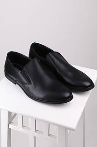 Туфли мужские черные 121566P