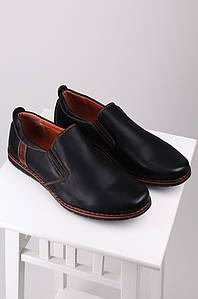 Туфли мужские черные 121579P