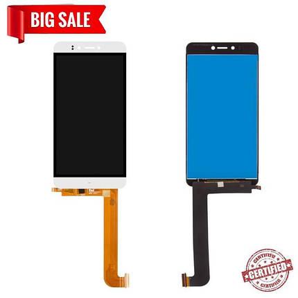 Модуль (сенсор+дисплей) для Prestigio MultiPhone PSP 3530 Muze D3, 3531 Muze E3, 7530 Muze A7, білий, фото 2