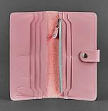 Портмоне из натуральной кожи 7.0 (розовое), фото 3