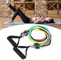 Набор эспандеров для фитнеса многофункциональный IronMaster 080920, фото 5