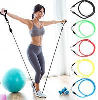 Набор эспандеров для фитнеса многофункциональный IronMaster 080920, фото 6