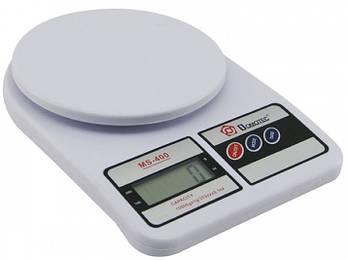 Весы кухонные электронные Domotec MS-400 на 10 кг