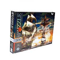 Пазлы Dankotoys Морской бой 500 элементов C500-12-11, КОД: 1660386