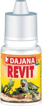 Вітаміни для черепах з кальцієм і йодом Dajana REVIT 20 мл