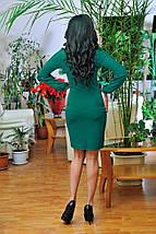 Женское платье с рукавом на манжете (0661-0662-0663 svt), фото 3